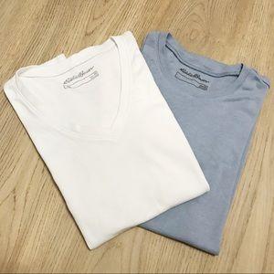 Eddie Bauer cotton tee shirts